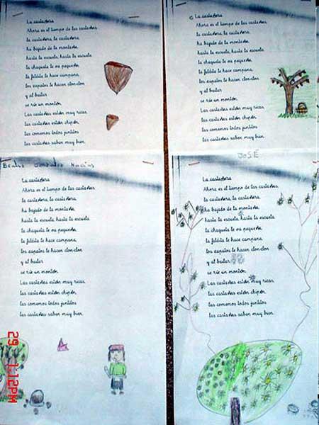 Fiesta de las Castanas / Poesia